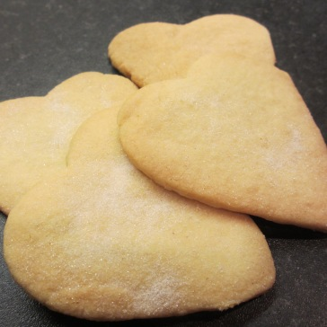 Shortbread Heart Biscuits