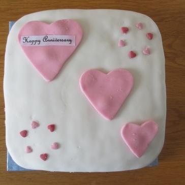 Anniversary or Valentine Cake