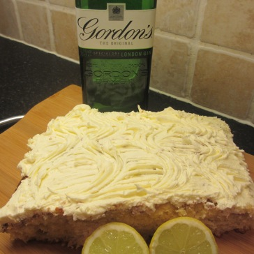 Gin and Tonic Cake