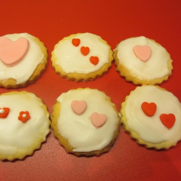 Valentine Biscuit Selection